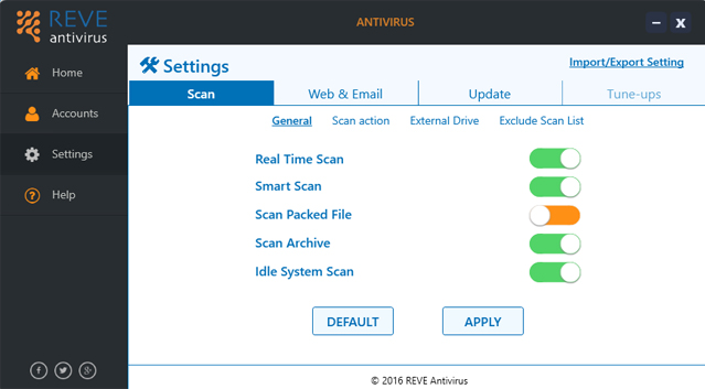 Security Antivirus for your PC