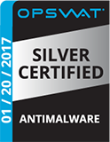 REVE Antivirus has received Anti-malware bronze certification from OPSWAT.
