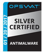OPSWAT Silver Certified Antimalware