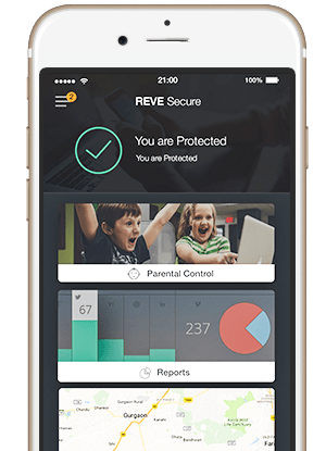 REVE Antivirus - Manage Parental Control Settings of PC from your iPhone