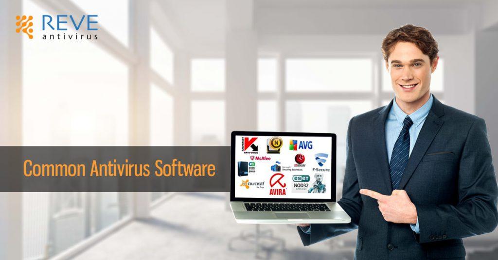 common antivirus software