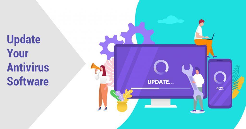 update antivirus software