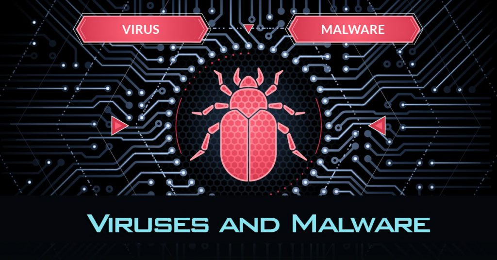 Computer viruses and malware
